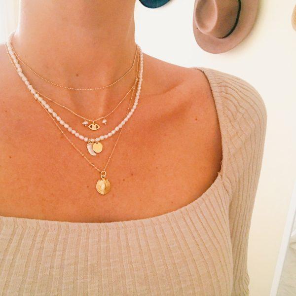 collar perlas colmillo-blingbling