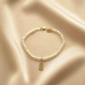pulsera cohete perlas