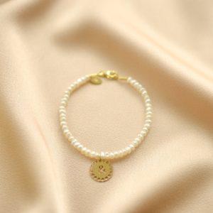 pulsera perlas &